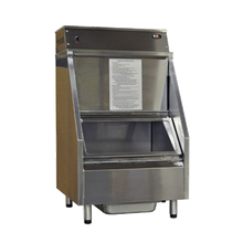 Carter-Hoffmann CW2E Bulk Chip Warmer, forced air heating system, inconel sheathed heating element, first-in first-out, gravity feed, top-loading, bottom