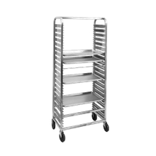 Channel 571AC Bun Pan Rack, Channel Slide, mobile, 29-1/2