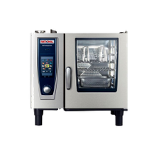 Rational B618106.43 (SCC 61 E 480V) SelfCooking Center Combi Oven/Steamer, electric, (6) 13