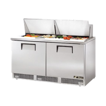 TRUE TFP-64-24M Sandwich/Salad Unit, two section, self-contained, (24) 1/6 size (4
