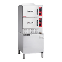 Vulcan C24GA10 Convection Steamer, gas, 2 compartments on 24