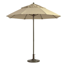 Grosfillex 98820331 Windmaster Umbrella, 9 ft., round top, 1-1/2