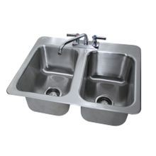 Advance Tabco DI-2-10 Drop-In Sink, 2-compartment, 10