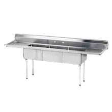 Special Value Fabricated Sink, 3-compartment, 18