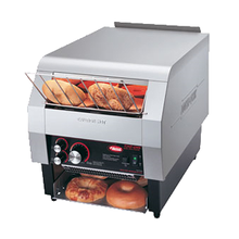 Hatco TQ-800HBA Toast-Qwik Conveyor Toaster, horizontal conveyor, countertop design, toasts one side only, bagel and bun toaster