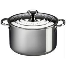 Le Creuset Casserole Pot, includes lid, stainless steel, 4 quart capacity