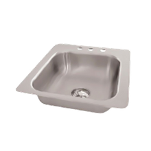 Advance Tabco SS-1-1715-10 Smart Series Drop-In Sink, 1-compartment, 14