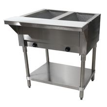 Advance Tabco HF-2G-LP Hot Food Table, LP gas, 31-13/16