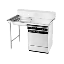 Advance Tabco DTU-U60-60L Dishtable, undercounter, 60
