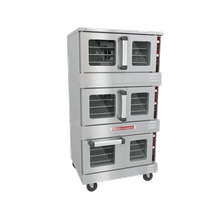 Southbend TVES/30SC TruVection Convection Oven, electric, low-profile, triple-deck, electronic ignition, 150-550F solid state thermostatic controls