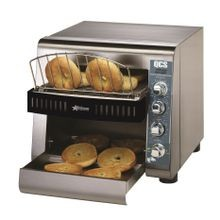 Star QCS2-1200B Star QCS Conveyor Toaster, electric, 1200 slices/hr. bagel toaster, horizontal conveyor, analog speed control, standby switch