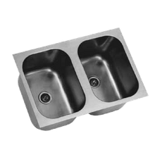 Eagle FDI-12-14-9.5-2 Undermount Sink, two compartment, 12