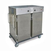 Lakeside 6760 Transport Cart, dual temperature, (2) compartments ((1) heated, (1) chilled), (6) set universal ledges, 5-1/2