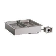 Alto-Shaam 200-HW/D6 Halo Heat Hot Food Well Unit, Drop-In, Electric, (2) 12