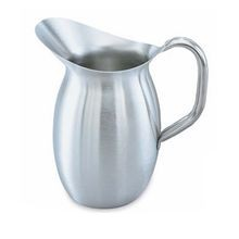 3 ?-quart bell-shaped stainless steel pitcher, Vollrath 82030
