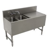Advance Tabco PRB-19-42L Prestige Underbar Sink Unit, 2-compartment, 48