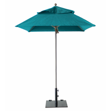 Grosfillex 98664131 Windmaster Umbrella, 6-1/2 ft., square top, 1-1/2