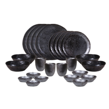 Earth Dinnerware Set, Black, Designed by Robert Gordon Australia
