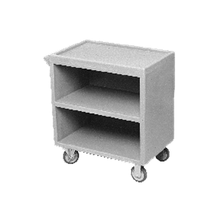Cambro BC3304S110 Service Cart, enclosed base (3) sides, (3) shelves, shelf size approximately 18