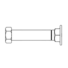 T&S Brass B-0442 Inlet Extension, adds 4-1/2