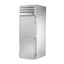 TRUE STA1RRI-1S SPEC SERIES Roll-in Refrigerator, one-section, stainless steel front & sides, (1) stainless steel door with lock, cam-lift hinges