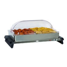 Cadco WTBS-2RT Double Buffet Server, countertop, 20-1/2