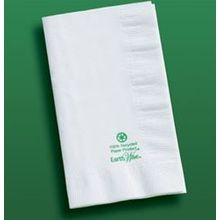 NAPKIN DINNER EARTHWISE WHITE 15X17 2-PLY 1/8 FOLD (1000)