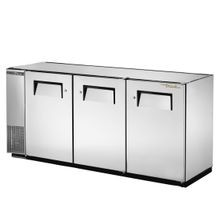 TRUE TBB-24GAL-72-S-HC Back Bar Cooler, three-section, 24