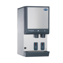 Follett E12CI425A-S Symphony Ice & Water Dispenser, countertop, SensorSAFE dispense, integral ice machine, Chewblet nugget ice, air-cooled