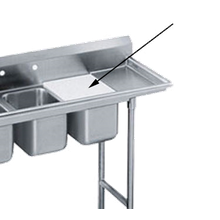 Advance Tabco K-2D Sink Cover, 18