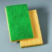SCRUB SPONGE YELLOW/GREEN (20/CASE)