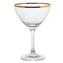Gold Miners Martini Glass, 8 ounce capacity, 5-3/4