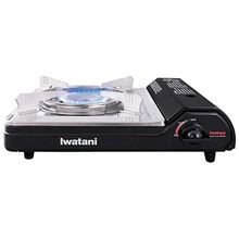BUTANE PORTABLE STOVE W/CASE 12,000 BTU W/WIND GUARD