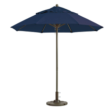 Grosfillex 98826031 Windmaster Umbrella, 9 ft., round top, 1-1/2