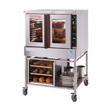 Blodgett DFG-200-ES ADDL Convection Oven, gas, single-deck, bakery depth, capacity (5) 18