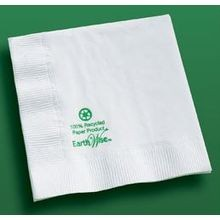 NAPKIN BEVERAGE WHITE (3000) EARTH WISE