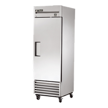 TRUE TS-23-HC Refrigerator, Reach-in, one-section, (1) stainless steel door, stainless steel front/sides, stainless steel interior, (3) gray PVC