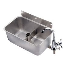Krowne 16-153L Krowne Front Mount Dipper Well, stainless steel, 1