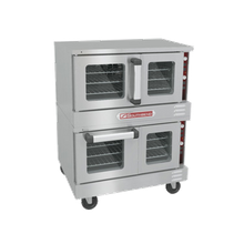 Southbend TVGS/22SC TruVection Convection Oven, gas, low-profile, double-deck, electronic ignition, 150-550F solid state thermostatic controls