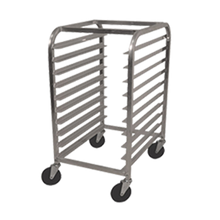 Advance Tabco PR10-3W Pan Rack, half size, mobile, end loading, 20-1/4