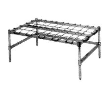 Metro HP55K3 Super Erecta Dunnage Rack with Mat, 48