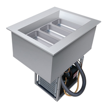 Hatco CWB-1 Drop-In Refrigerated Well, (1) pan size, top mount, electronic temperature control, condenser unit (can be rotated), sight glass