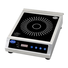 Globe GIR18 Induction Range, countertop, electric, for continuous use, temperature ranges from 140 to 460 F, (7) power levels, touch pad controls