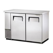 TRUE TBB-24-48-S-HC Back Bar Cooler, two-section, 24