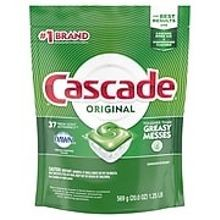 DISHWASHER DETERGENT CASCADE ACTION PACS 4/37 FRESH SCENT