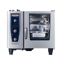 Rational B619206.27E202 (CMP 61NG 120V) CombiMaster Plus, Combi Oven/Steamer, natural gas, (6) 12