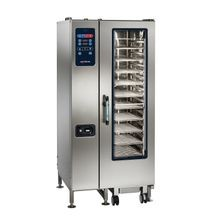 Alto-Shaam CTC20-10G Combitherm CT Classic Combi Oven/Steamer, gas, boilerless, floor model with roll-in cart, (20) non-tilt support rails
