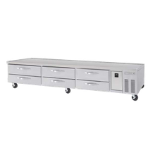 Beverage Air WBC110 Reach-In Blast Chiller, front breathing, designed to reduce the temperature of 110 lbs. of 2 thick, uncovered food from 160F to