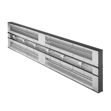 Hatco GRAM-72D-3 Glo-Ray Infrared Foodwarmer, maximum wattage, tubular metal heater rod, double heater rod housing 3
