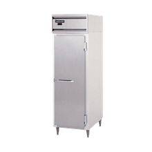 Continental DL1W-SA Designer Line Heated Cabinet, reach-in, one-section, stainless steel exterior, aluminum interior, standard depth cabinet, narrow